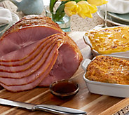Kansas City 7.25-8.5lb Ham with (2) 2 lb. St. Clair Sides Auto-Delivery - M53826