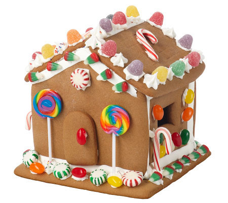 Dylan 39 S Candy Pre Assembled Gingerbread House Kit W