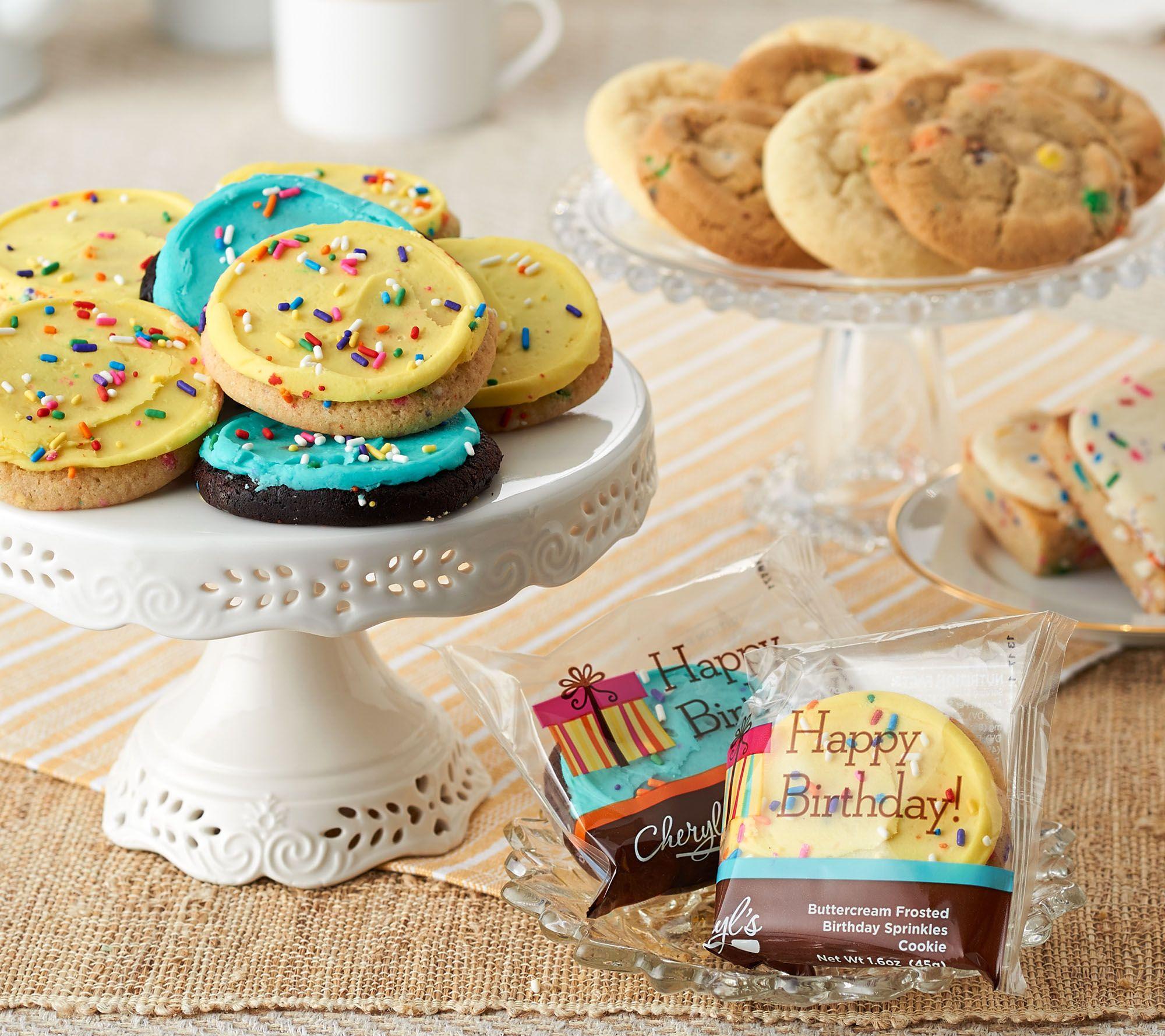 New customer qvc promo code - Cheryl S 22 Piece Birthday Bash Cookie And Brownie Assort M54627