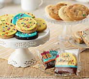 Cheryls 22 Piece Birthday Bash Cookie and Brownie Assort. - M54627