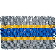 Maine Rope Mats 18x30 5-Stripe Fishing Rope Door Mat - M55527