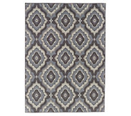 Veranda Living 5x7 Indoor/Outdoor Tile Medallion Rug - M55727