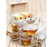Wissotzky Tea Mini Magic Tea Chest with 32 Assorted Teas - M112928