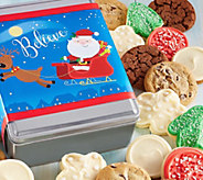 Ships 11/1 Cheryls Believe Holiday Tin - 16 Cookies - M115928