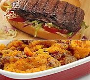 Kansas City (14) 4-oz Teriyaki Steaks & Sweet Potato Casserole - M116728