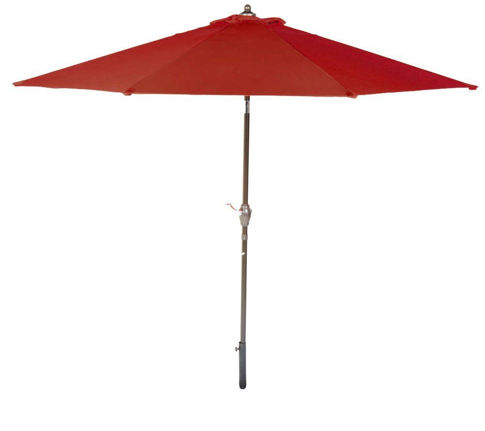 ATLeisure 9u0027 Crank U0026 Tilt Patio Umbrella With Removable Cover   Page 1 U2014  QVC.com