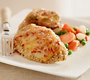 Stuffin Gourmet (20) 5 oz. Bacon Double Cheese Crusted Chicken Breasts - M48828
