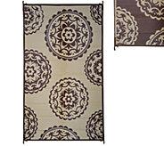 Medallion Design 5 x 8 Outdoor Mat by PatioMats - M49228