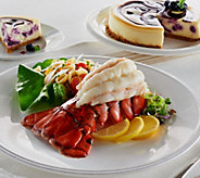 Lobster Gram (12) 5-6 oz. Lobster Tails with Juniors Cheesecake - M50728