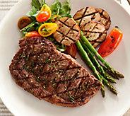 Rastelli Market Fresh (8) 8oz. Black Angus Ribeye Steaks Auto-Delivery - M50928