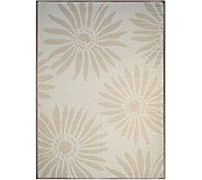Barbara King Daisy 8x11 Reversible Outdoor Mat by PatioMats - M51728