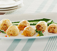 Ships 12/5 Nautical Foods (24) 1 oz. Seafood Puff Pastries - M52028