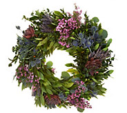 22 Fresh Floral Spring Wreath by Michael Gaffney - M54028