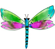 Plow & Hearth Layered Glass Butterfly or Dragonfly Wall Art - M55528