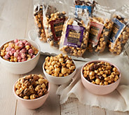 Harry & David (10) 10-oz Bags of Spring Moose Munch Popcorn - M57728