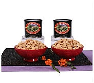 The Peanut Shop of Williamsburg Almonds (2) 11-oz Tins - M106629