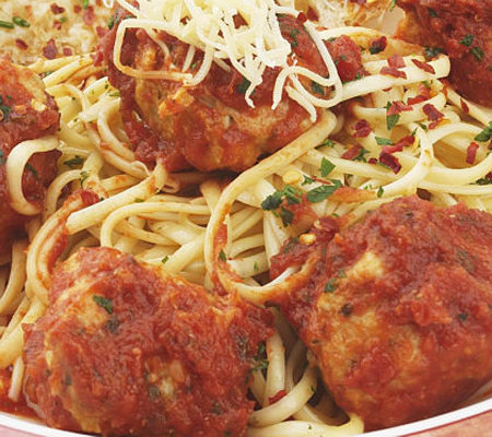 Stuffin Gourmet (4)1lb Packages Chicken Meatballs with Homemade Sauce