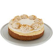 Ships 11/6 Juniors 3.5 lb Pumpkin Pie Caramel Cheesecake - M56329