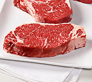 Kansas City (4) 16-oz USDA Prime Kansas City Strip Steaks - M116730