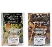 Saltopia Prime Monsiuer & Mushy Love Flavored Sea Salts - M116930