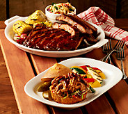 Corkys BBQ (5) 1 lb. Ribs w/ 1 lb. Pulled Chicken & Bonus Auto-Delivery - M42130