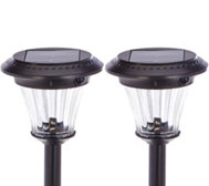 Duracell Set of 2 Motion Sensor Solar Path Light Set