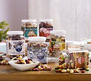 SH 12/11 Germack 3 lbs. of 6 Holiday Mini Jar Assortment - M53830