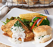 Heartland Fresh (10) Chicken Fried Chicken w/Gravy&Biscuit Auto-Delivery - M55530