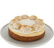 Ships 12/4 Juniors 3.5 lb Pumpkin Pie Caramel Cheesecake - M56330