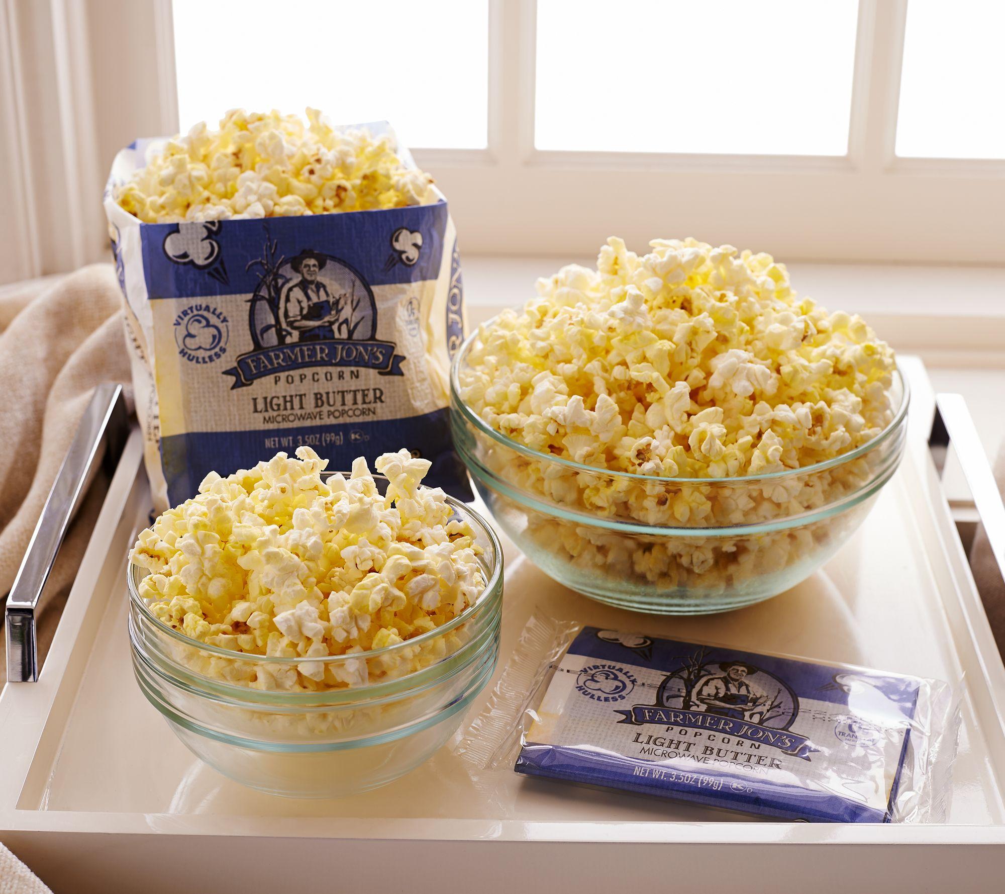 Blue apron qvc - Farmer Jon S 20 3 5 Oz Bags Virtually Hulless Popcorn M51031