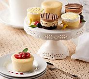 SH10/2 Juniors Set of 18 Sugar Free Mini Cheesecakes & Layer Cakes - M56031