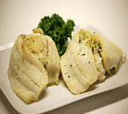 Stone Silo Five 9-oz Stuffed Flounder Filets - M110632