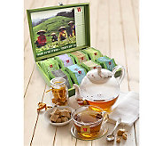 Wissotzky Tea Green Tea Chest with 80 SpecialtyGreen Teas - M112932