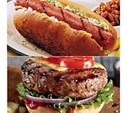 Kansas City (16) 4.5-oz Steakburgers & (16) 3.2-oz Hot Dogs - M116032
