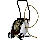 75-foot Hose with Foot Crank Powered Hose Reel - M49732