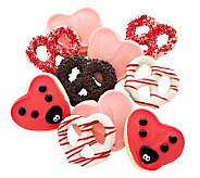 Cheryls 10-Piece Valentine Pretzel and CutoutAssortment - M113333
