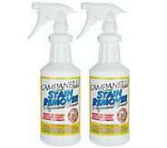 Set of 2 Professional Stain Remover Liquids byCampanelli - M114633