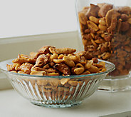 Peanut Shop of Williamsburg (2) 2lb Tins of Chesapeake Bay Snack Mix - M47333
