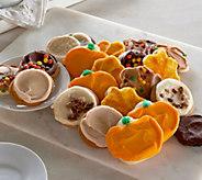 Cheryls 24 Piece Halloween Frosted Cookie Assortment - M50233