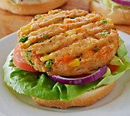 Guiltless Cuisine (24) 4 oz. Veggie Burgers - M51633