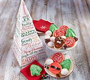 Ships 11/1 Cheryls Christmas Tree Gift Tower - M115934