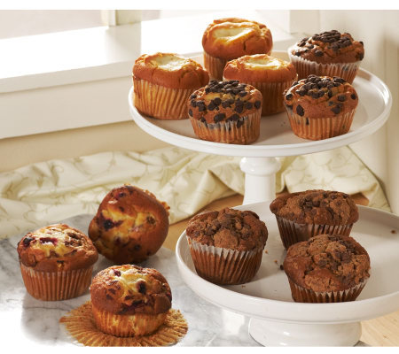 Jimmy the Baker Old Time Bronx Seasonal Muffin 12-pc Sampler