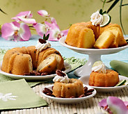 Dockside Market (2) 1.5 lb. Tropical Cakes & (4) Bonus Mini Cakes - M41034