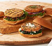Graham & Rollins (15) 3.5 oz Salmon Burger 3-Flavor Auto-Delivery - M47034