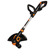 Worx 3.0 Trimmer & Edger w/2 Batteries, Command Feed & 6 Spools - M49934