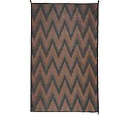 Barbara King 5x8 Chevron Reversible Outdoor Mat by PatioMats - M51734
