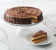 Delizioso Desserts 3.25-lb Round Chocolate Hazelnut Cake - M56634