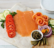 H. Forman & Son (5) 3.5-oz London Cure Smoked Salmon - M56834