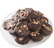 Landies Candies 18 piece Dark Chocolate AlmondButter Pretzels - M115236