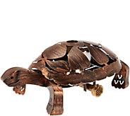 Bernini Rustic Turtle Full Radius Garden Sprinkler - M48636